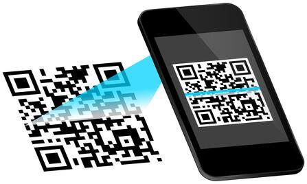 QR-Code per Handy einlesen