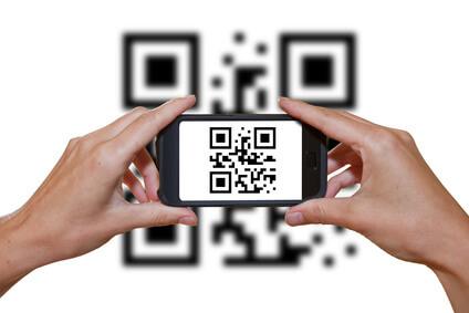 QR-Code auf der Website verwenden